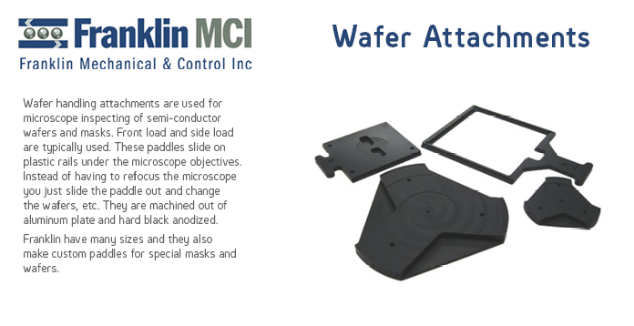 Franklin Wafer Attachments